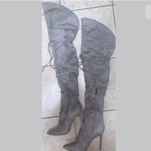 Women's thigh- boots